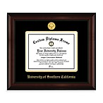 University of Southern California 22K Gold-Plated Medallion Diploma Frame