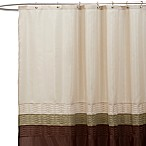 Mia Green and Brown 72-Inch x 72-Inch Shower Curtain