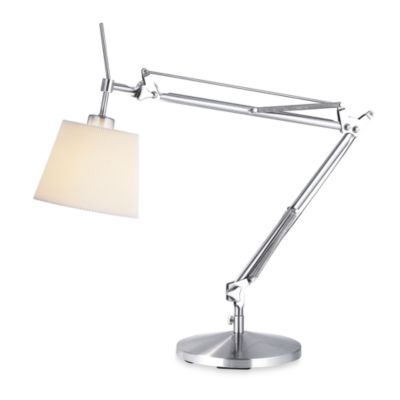 Adesso® Satin Steel Architect Desk Lamp