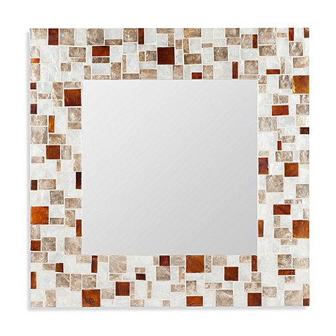 Cooper Classics Barlow Patterned Mirror
