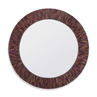 Cooper Classics Voltaire Round Mirror