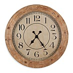 Cooper Classics Fairbanks Wall Clock