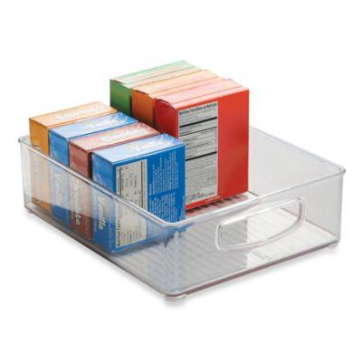 InterDesign® Cabinet Binz™ 10-Inch x 8-Inch x 3-Inch Plastic Bin
