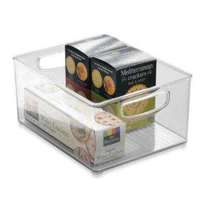 InterDesign® Cabinet Binz™ 10-Inch x 8-Inch x 5-Inch Plastic Bin