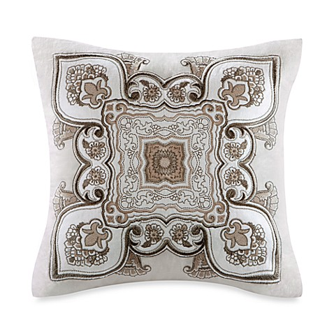 Echo Design™ Odyssey Appliqué 16-Inch Square Toss Pillow