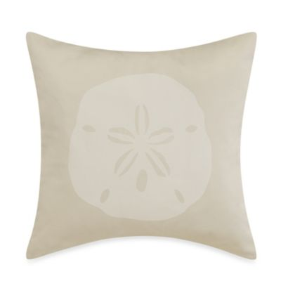 Tommy Bahama® Surfside Ikat Sand Dollar Square Toss Pillow