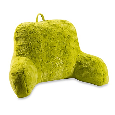 Furry Green Backrest