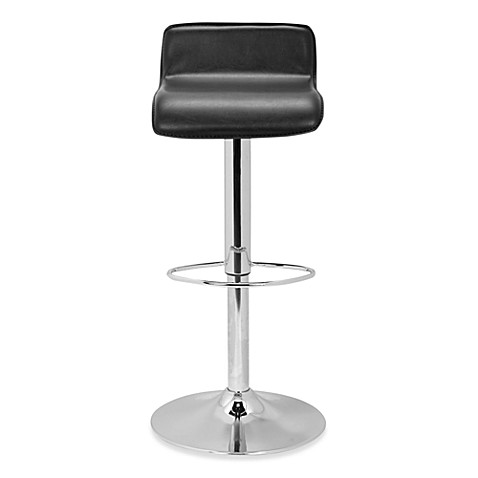 Safavieh Aubrey Gas Lift Stool in Black