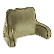 Plush Backrest in Leaf Green