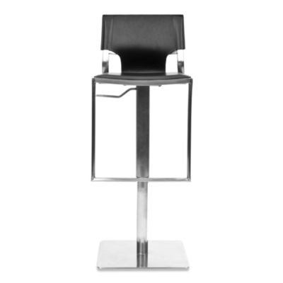 Safavieh Armondo Gas Lift Barstool in Black