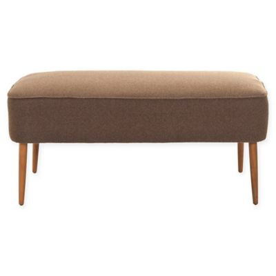 Safavieh Levi Bench in Brown
