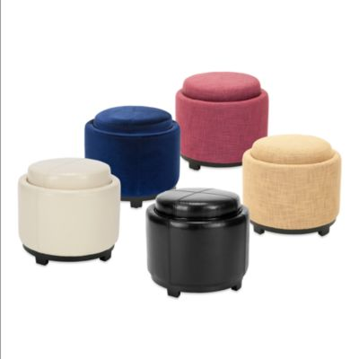 Buy Storage Ottoman Tray From Bed Bath Amp Beyond
