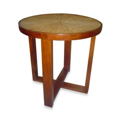Jeffan International Habitat Round End Table