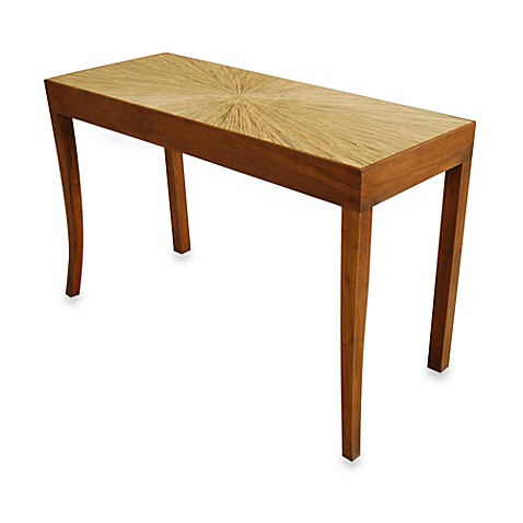 jeffan international habitat console table bed bath beyond. Black Bedroom Furniture Sets. Home Design Ideas