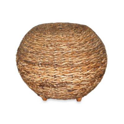 Jeffan International Abaca Oval Stool Big Astor