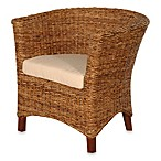 Jeffan International U-Chair Abaca Small Astor w/Cushion