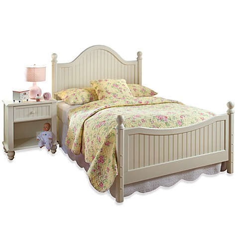 Hillsdale Furniture Westfield Wood Full Bed Set with Post Kit and Rails