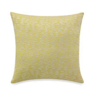 KAS® Mahalia Lime Square Toss Pillow