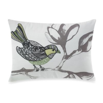 KAS® Mahalia Bird Oblong Toss Pillow