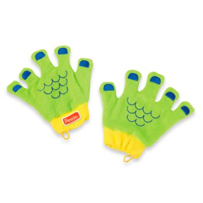 Manhattan Toy® Sudsy Fun Mitts in Sea Monster