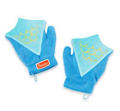 Manhattan Toy® Sudsy Fun Mitts in Fish