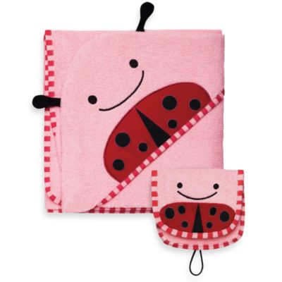 Skip Hop Towel & Mitt Set