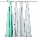 aden® by aden + anais® 4-Pack Muslin Swaddle in Goodnight Owl