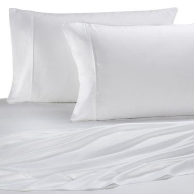 Eucalyptus Origins™ Tencel® Lyocell California King Sheet Set in White