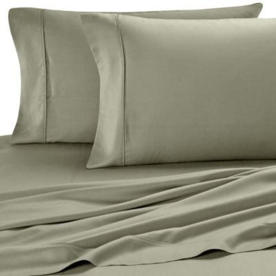Eucalyptus Origins™ Tencel® Queen Sheet Set in Fern