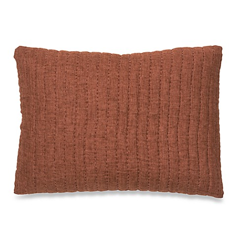 Sausalito Pickstitch Oblong Toss Pillow