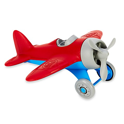 Green Toys™ Airplane with Red Wings