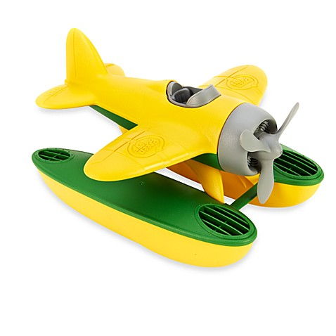 Green Toys™ Seaplane with Wings in Yellow