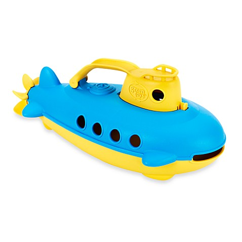 Green Toys™ Submarine with Yellow Handle