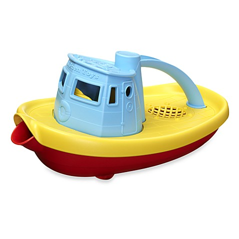 Green Toys™ Tugboat with Blue Top