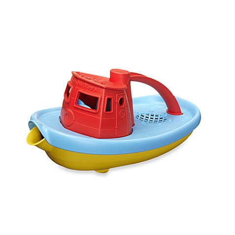 Green Toys™ Tugboat with Red Top