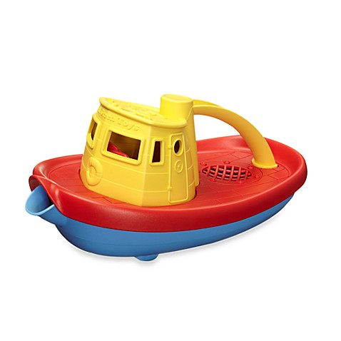 Green Toys™ Tugboat with Yellow Top