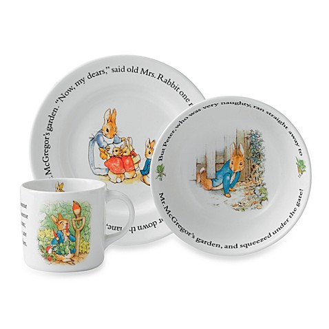 Wedgwood® 3-Piece Peter Rabbit Original Set