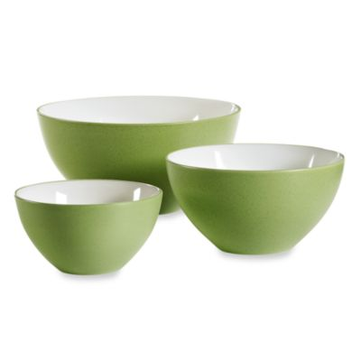 Noritake® Colorwave Apple 3-Piece Mixing Bowl Set