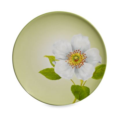 Noritake® Colorwave Floral Accent Plate in Green Apple