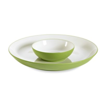 Noritake® Colorwave Apple Rim14 3/4-Inch Chip & Dip 2-Piece Set