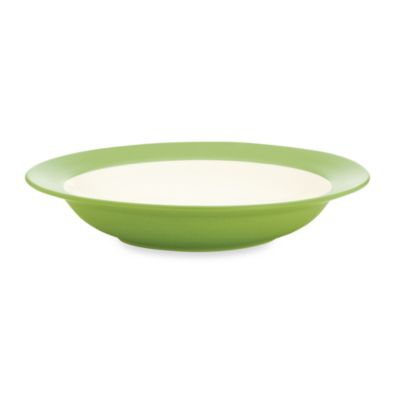 Colorwave Rim Soup Bowl in Green