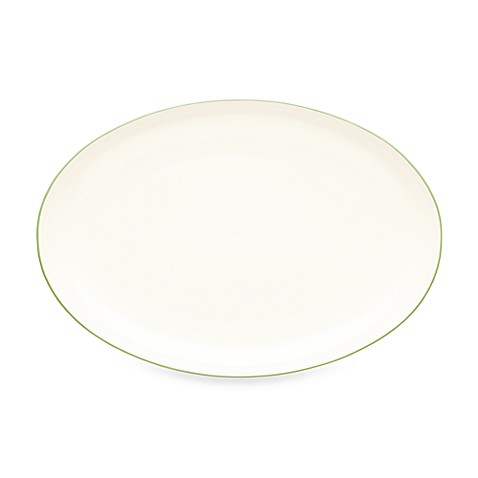 Noritake® Colorwave 16-Inch Oval Platter in Green Apple