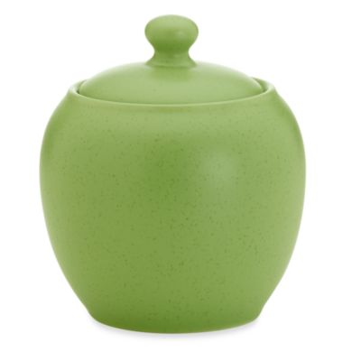 Noritake® Colorwave Apple Rim 13-Ounce Sugar Bowl with Cover