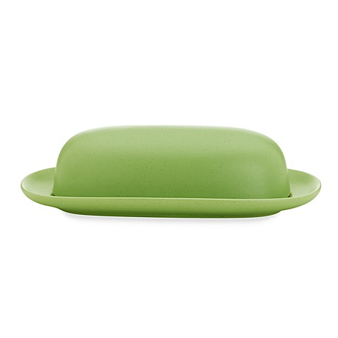 Noritake® Colorwave Covered Butter Dish in Apple