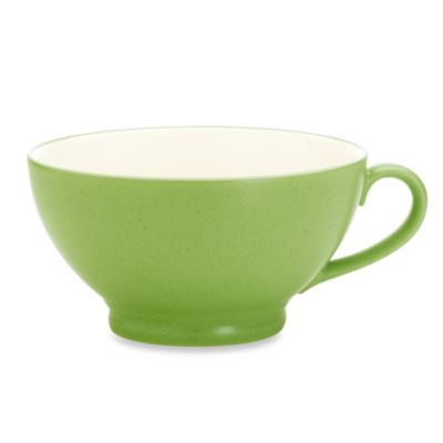 Noritake® Colorwave 18-Ounce Handled Bowl in Apple