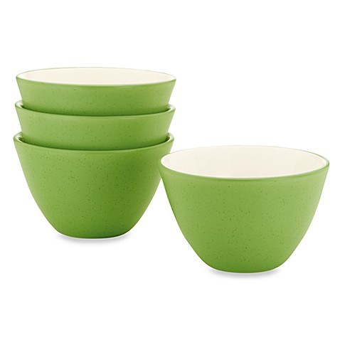 Noritake® Colorwave Mini Bowls in Apple (Set of 4)