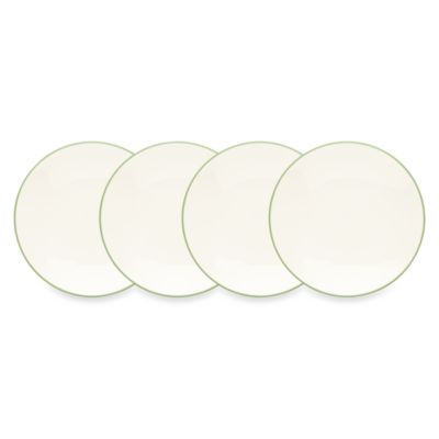 Noritake® Colorwave Mini Plates in Apple (Set of 4)
