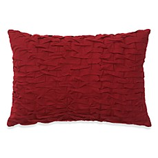 Abigail Pleated Oblong Toss Pillow