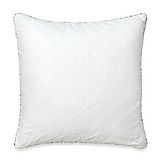 Abigail Eyelet Square Toss Pillow