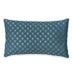 Bianca Fish Scale Embroidered Toss Pillow